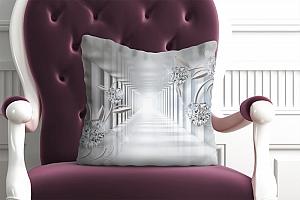 3D Подушка «Тоннель с бриллиантами»