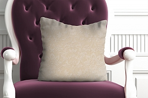 3D Подушка «Винтажный узор»