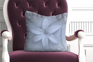 3D Подушка «Чувственный цветок»