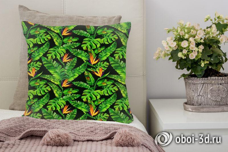 3D Подушка «Карибские джунгли»