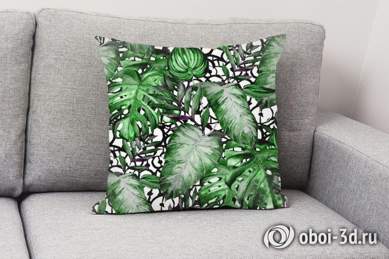 3D Подушка «Тропический микс» вид 7