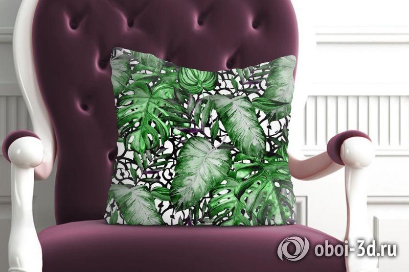 3D Подушка «Тропический микс» вид 6