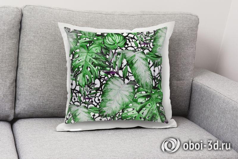 3D Подушка «Тропический микс» вид 3