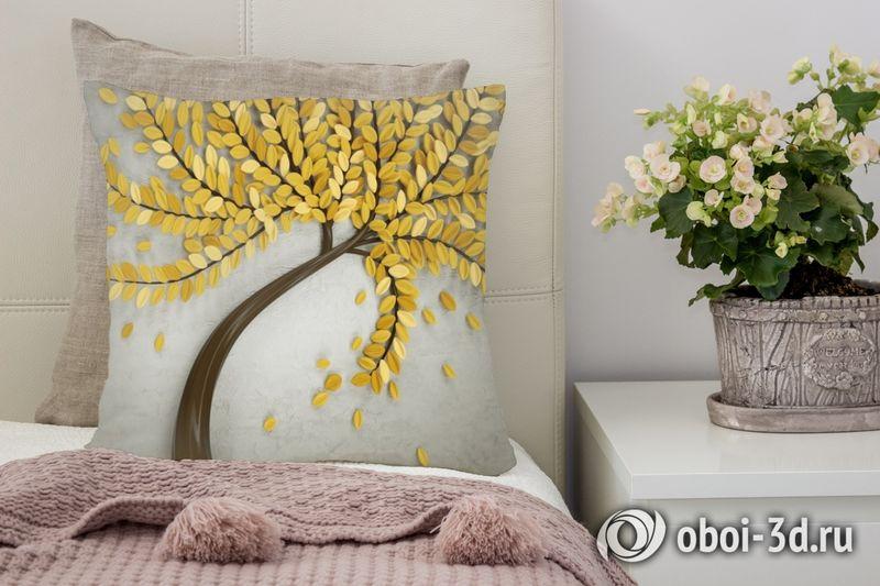 3D Подушка «Осеннее дерево»