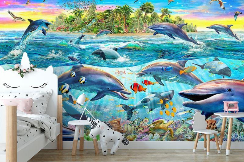3D Фотообои «Далекий остров» вид 4