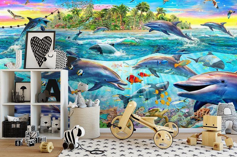 3D Фотообои «Далекий остров» вид 2