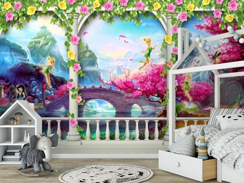 3D Фотообои «Мир фантазии» вид 6