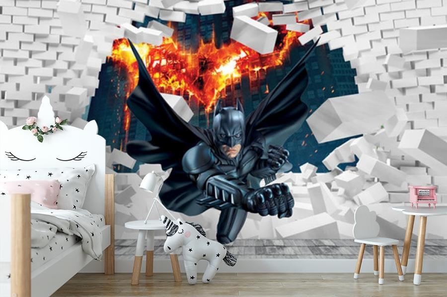 3D Фотообои «Бэтмен» вид 4