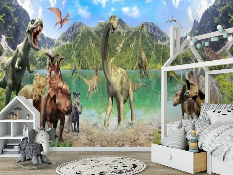 3D Фотообои «Динозавры» вид 6
