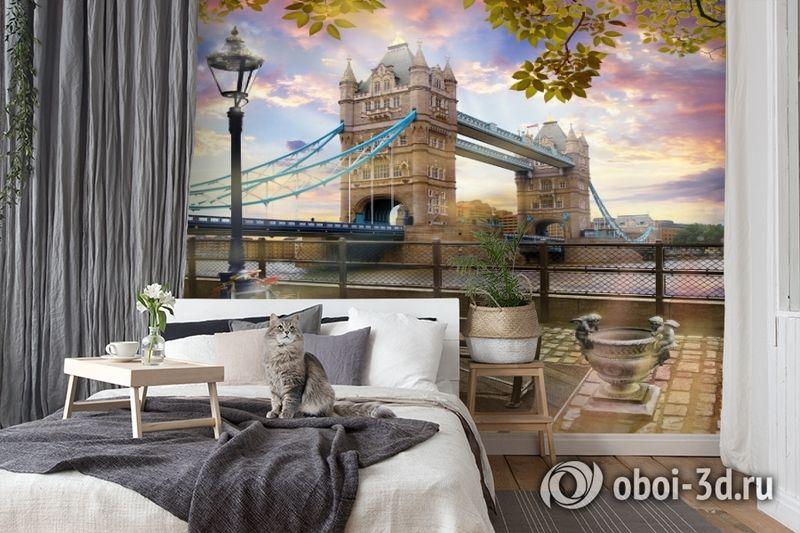 3D Фотообои «Тауэрский мост» вид 7