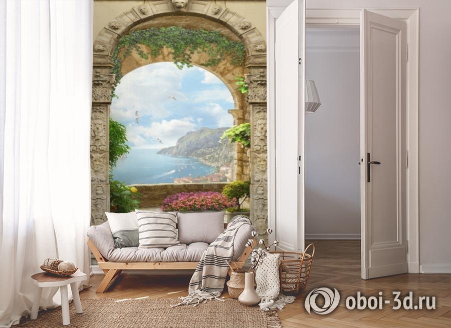 3D Фотообои «Двойная арка» вид 8