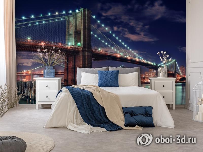3D Фотообои «Бруклинский мост» вид 8
