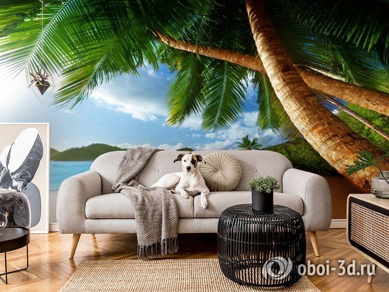 3D Фотообои «Пляж» вид 5