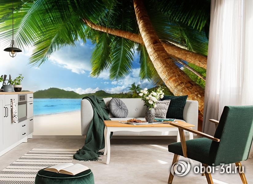 3D Фотообои «Пляж» вид 4