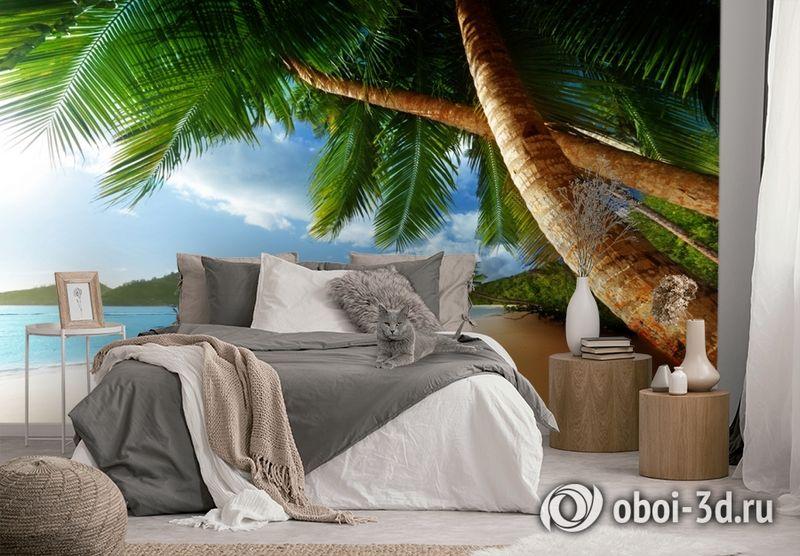 3D Фотообои «Пляж» вид 3
