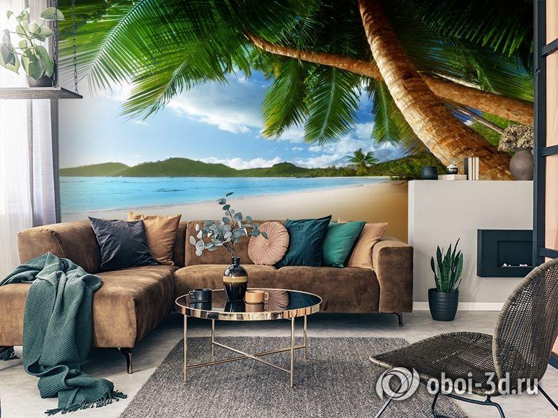 3D Фотообои «Пляж» вид 2