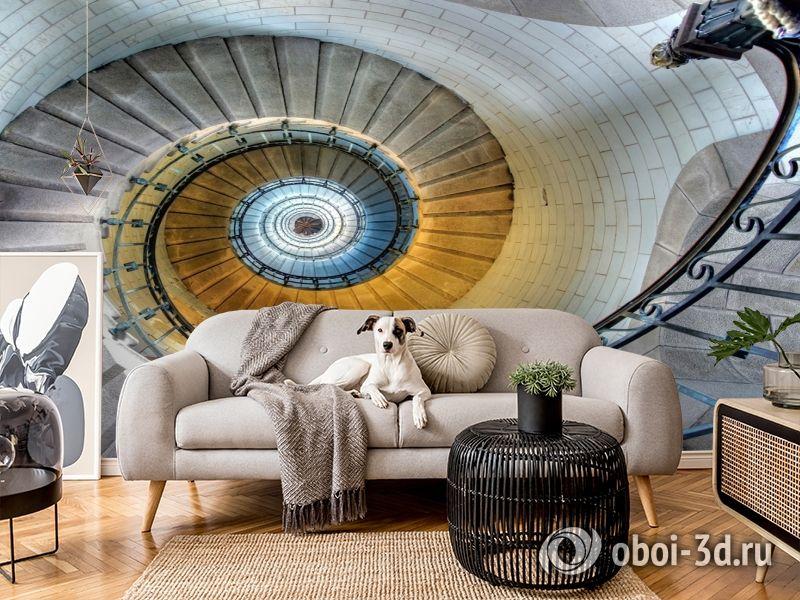 3D Фотообои «Винтажная лестница» вид 9
