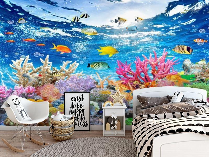 3D Фотообои «Яркие краски кораллового рифа» вид 5