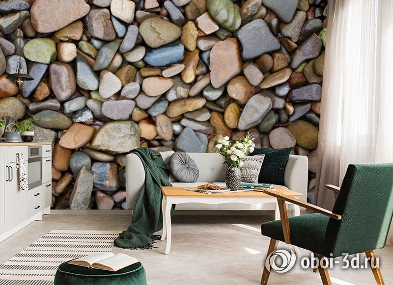 3D Фотообои «Морские камни» вид 6