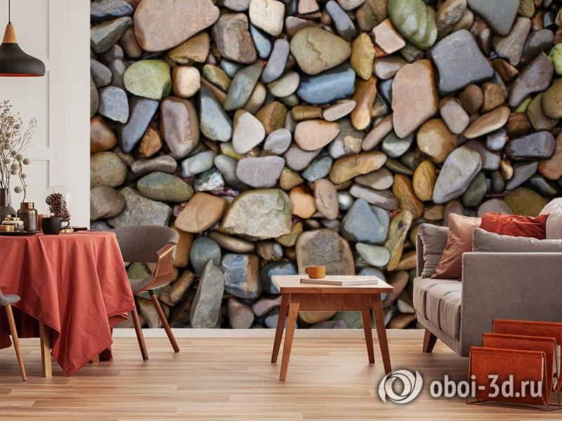 3D Фотообои «Морские камни» вид 4
