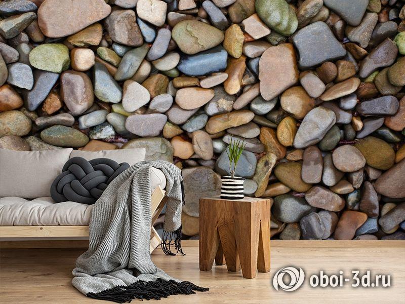 3D Фотообои «Морские камни» вид 2