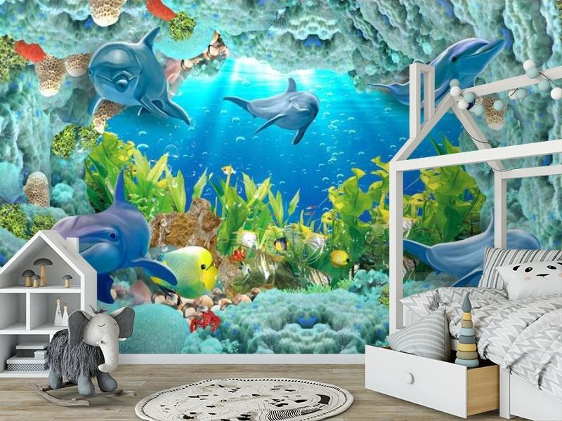 3D Фотообои «Дно океана» вид 6
