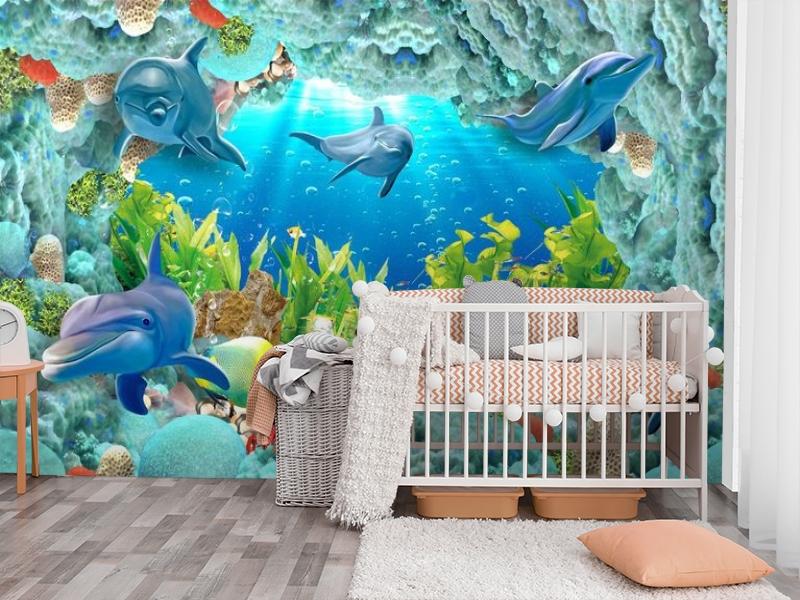 3D Фотообои «Дно океана» вид 3