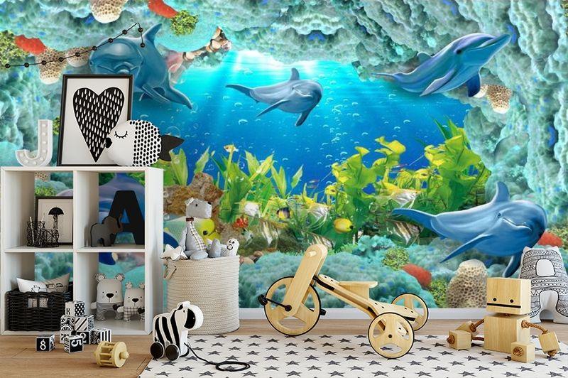 3D Фотообои «Дно океана» вид 2