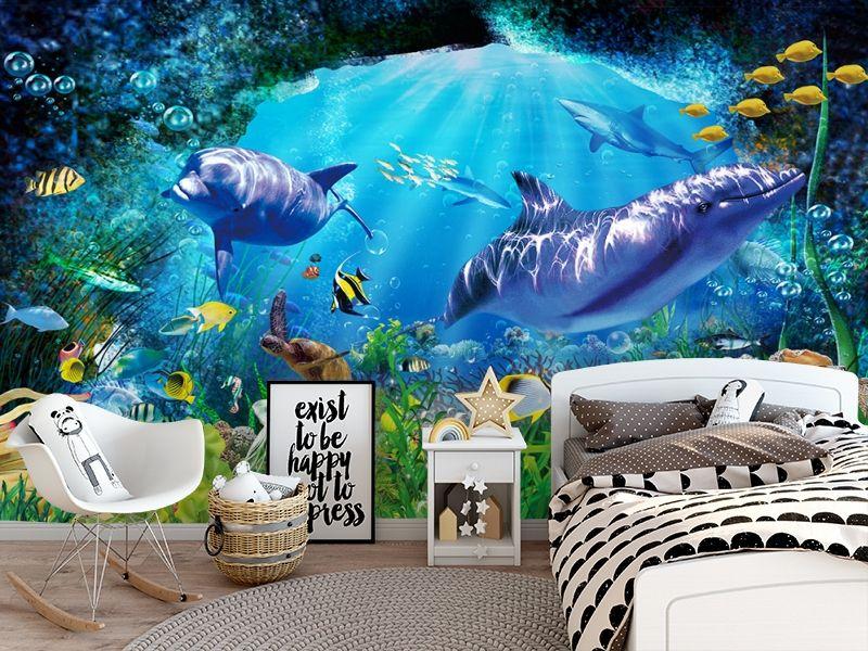 3D Фотообои «Глубоко под водой» вид 5