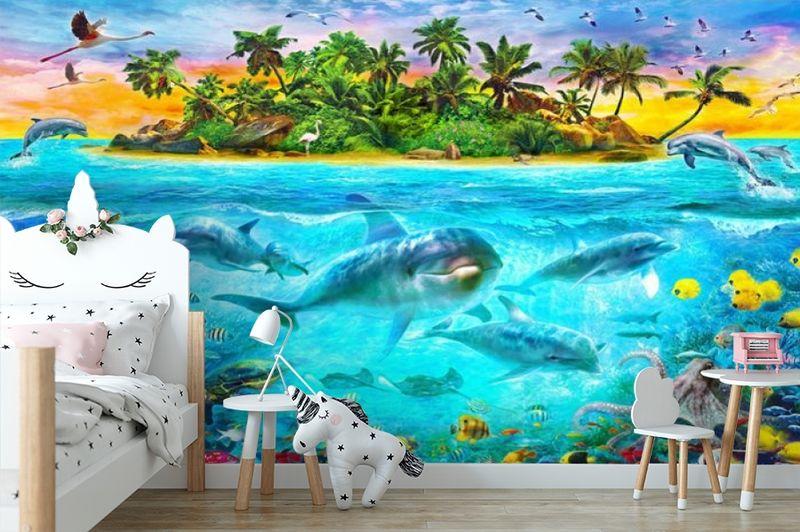 3D Фотообои «Обитатели глубин» вид 4