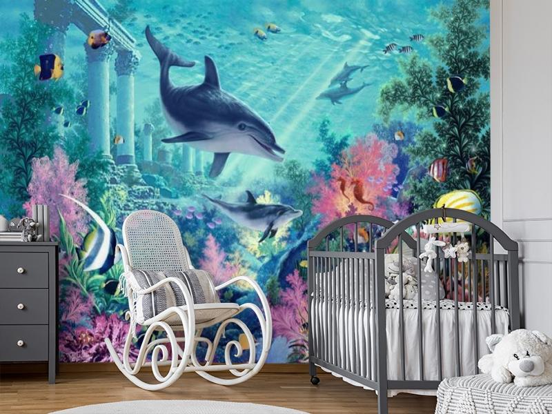 3D Фотообои «Сказочное дно океана» вид 7