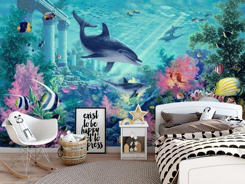3D Фотообои «Сказочное дно океана» вид 5