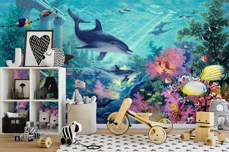3D Фотообои «Сказочное дно океана» вид 2