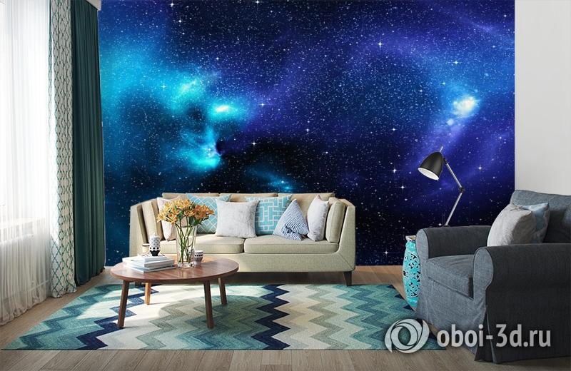 3D Фотообои «Космические просторы» вид 6