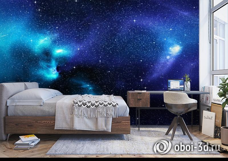 3D Фотообои «Космические просторы» вид 5