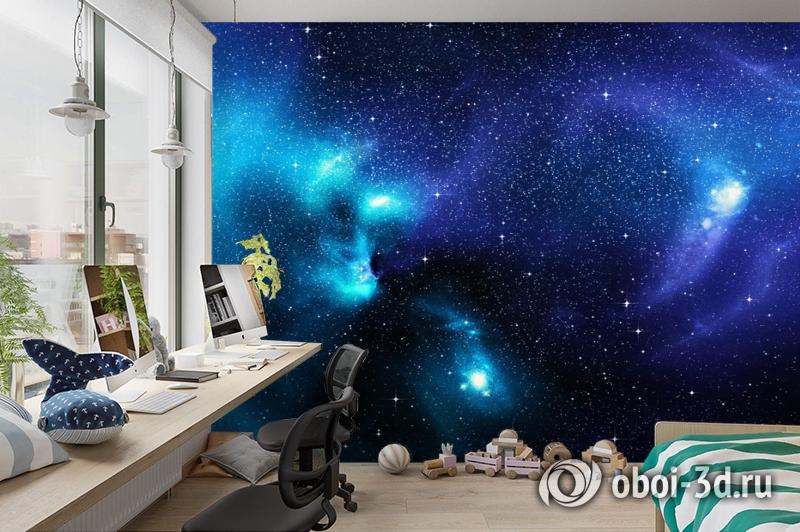 3D Фотообои «Космические просторы» вид 3
