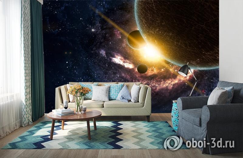 3D Фотообои «Новая галактика» вид 6