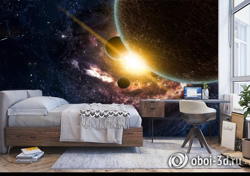 3D Фотообои «Новая галактика» вид 5