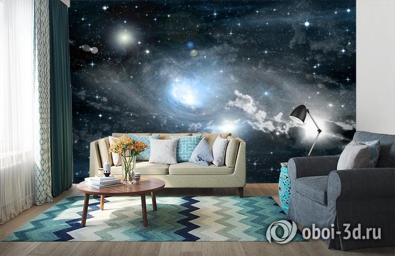 3D Фотообои «Синева космоса» вид 6