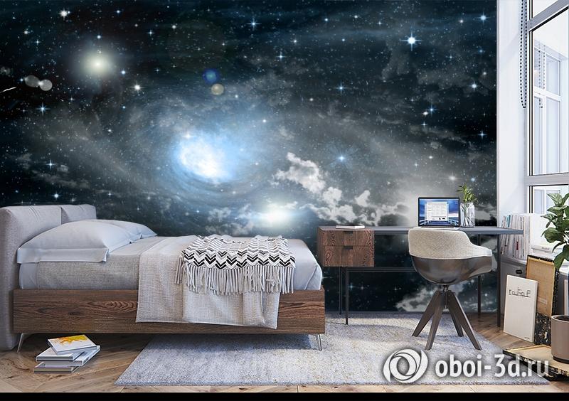 3D Фотообои «Синева космоса» вид 5