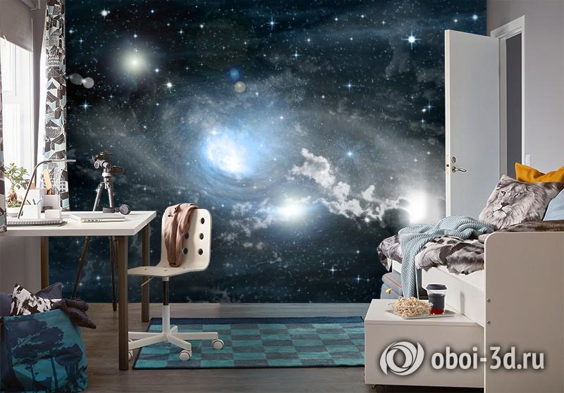 3D Фотообои «Синева космоса» вид 4