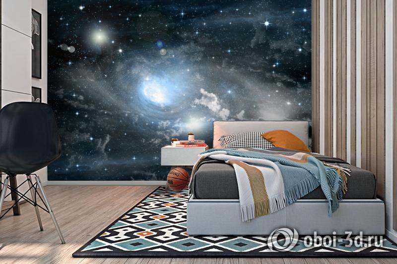 3D Фотообои «Синева космоса» вид 2