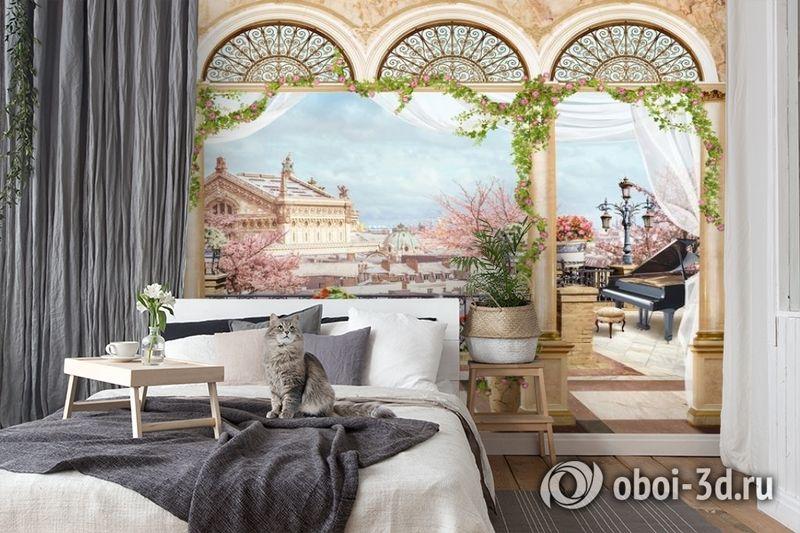 3D Фотообои «Королевская терраса» вид 7