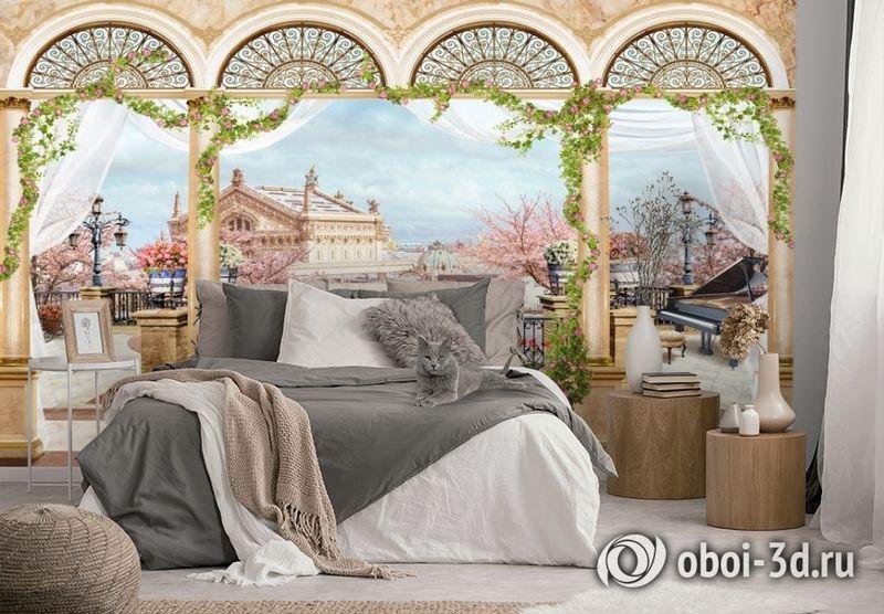 3D Фотообои «Королевская терраса» вид 2