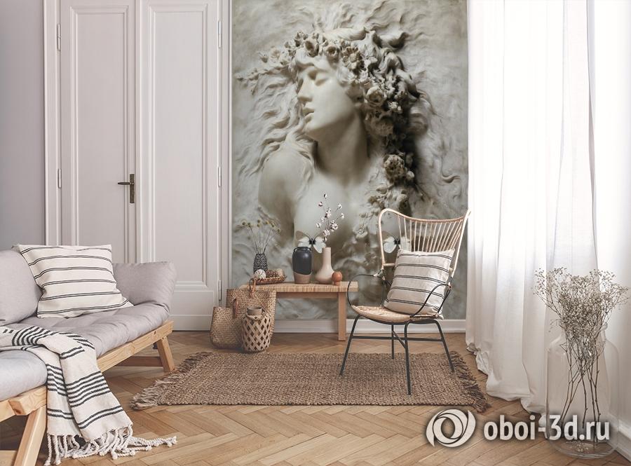 3D Фотообои «Греческая дева» вид 9