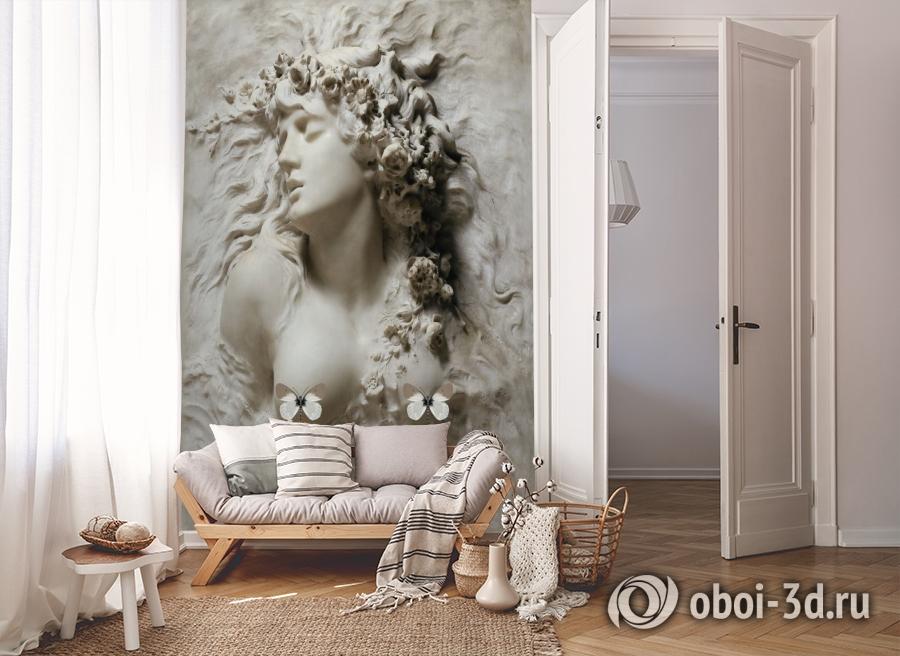 3D Фотообои «Греческая дева» вид 8