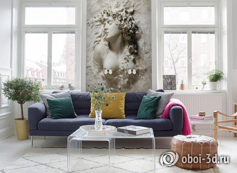 3D Фотообои «Греческая дева» вид 5