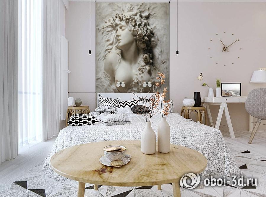 3D Фотообои «Греческая дева» вид 3