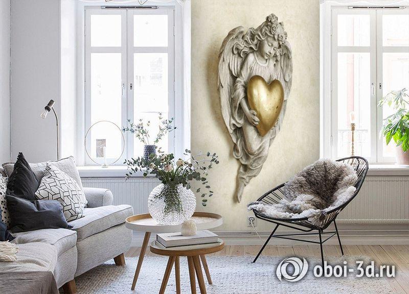 3D Фотообои «Ангел хранитель» вид 4