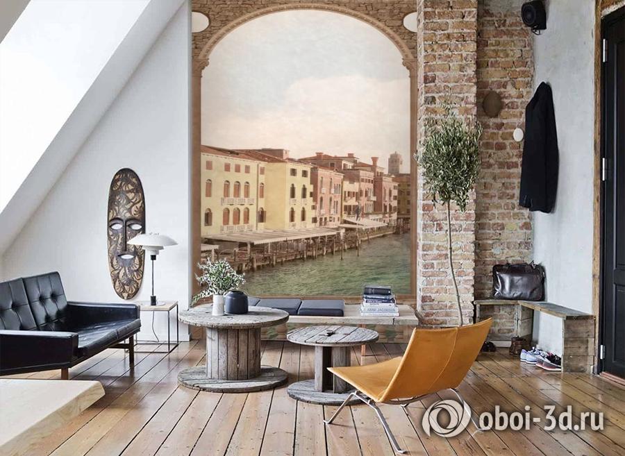 3D Фотообои «Венецианский канал 1» вид 7